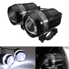 2x Universal Motorcycle Bike 30W U2 U3 LED Spot Fog Driving Head Light Lamp