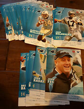 2007 DAV CAROLINA PANTHERS TEAM ISSUE PHOTO CARD SET OF 39 WILLIAMS KALIL SMITH