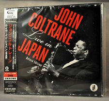 John COLTRANE LIVE In JAPAN Deluxe Edition SHM-CD x5 UCCI-9191~5 NEW SHM CD's x5