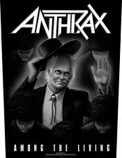 ANTHRAX - Among the living Rückenaufnäher Backpatch