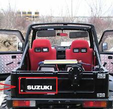 Sticker for SUZUKI Jimny 4x4 samurai Offroad or decal Santana 4 x 4 mirror led