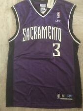 Gerald Wallace Signed Kings Jersey Reebok Medium New With Tags Rare