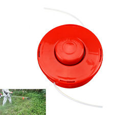 Red Nylon Brush Mower Bump Feed Line Spool Grass Strimmer Trimmer Head Cut Rope