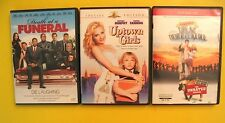 3 DVD MOVIES LOT: Death at a Funeral Uptown Girls National Lampoon's Van Wilder