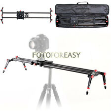"""80cm/32""""DSLR Camera Carbon Fiber Slider Dolly Track Video Stabilizer Rail System"""