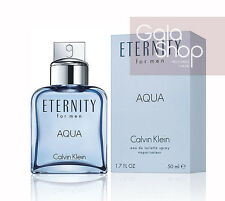 CALVIN KLEIN ETERNITY FOR MEN AQUA EAU DE TOILETTE 50ML PROFUMO UOMO EDT