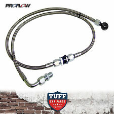 BA BF Ford Falcon XR6 Turbo Proflow Braided Oil Feed Line Kit With Filter FPV F6