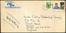 Kenya 1990 Commercial Airmail Cover To UK #C37940