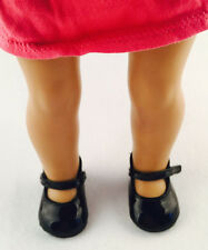 good fashion new black shoes for 18inch American girl doll party b384