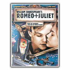 ROMEO AND JULIET 1996 METAL SIGN WALL PLAQUE Film Movie Advert poster art print