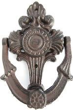 Historischer Türklopfer Eisen Guss Historisches Jugendstil Kreuz Metall