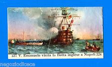 CENTENARIO UNITA D'ITALIA - Figurina-Sticker n. 327-328 - INGLESI A NAPOLI -Rec