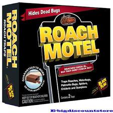 2 TrapsBlack Flag Roach Motel Cockroach Killer Bait Glue Traps 1 pack = 2 Traps
