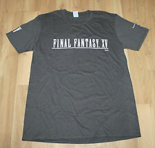 Final Fantasy XV 15 Promo T-Shirt from Gamescom 2016 Size S