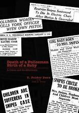 DEATH OF A POLICEMAN BIRTH OF A BABY - NEW HARDCOVER BOOK