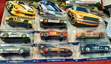 2016 Hot Wheels  Ford Performance 8 Car Set Mustangs