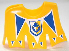 LION KNIGHTS HORSES CAPE SADDLECLOTH YELLOW KNIGHT PLAYMOBIL to Crusader 1313
