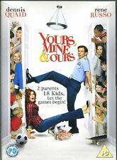 Yours, Mine & Ours - DVD - Dennis Quaid, Linda Hunt, Rene Russo, Rip Torn