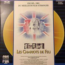 CHARIOTS DE FEU (LES) WS VF PAL LASERDISC Ben Cross, Ian Charleson