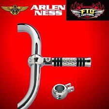 """Arlen Ness 1-1/4"""" Clamp-On Foot Peg Mount for Crash Bars Chrome 07-190"""