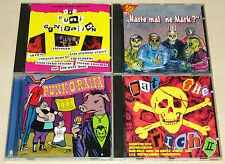 4 CD SAMMLUNG - PUNK O RAMA VOL EAT THE RICH - EXPLOITED SHAM 69 BOSKOPS CHAOS Z