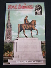 Lady Godiva and Peeping Tom, Coventry, Warwickshire Postcard