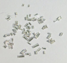 1+ Carats Mix WHITE BAGUETTES CUT Natural POLISHED DIAMONDS