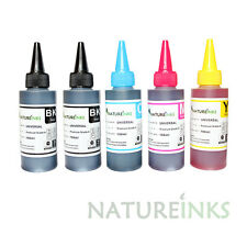 500ml Premium Ink refill bottles kit for empty Canon Epson Brother cartridge
