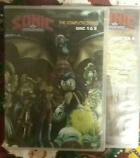 Sonic the Hedgehog -The Complete Series (DVD, 2007, 4-Disc Set)*Scratched Discs*