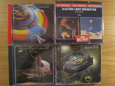 5 ELO CDs, Electric Light Orchestra: Out of the blue, discovery, time, Part two,