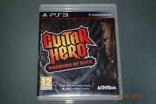 Guitar HERO WARRIORS OF ROCK PS3 playstation 3 ** gratuite au royaume-uni frais de port!! **