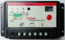 10A PWM Solar Panel 12v 24v Auto switching Battery Charge Controller Charger