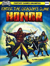 ENTER THE DRAGON'S CLAW HONOR EXC+! V&V Villains & Vigilantes Module Superhero