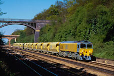 543085 BR Class 59 Works A Stone Train Near Reading UK A4 Photo Print