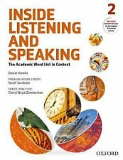 NEW - Inside Listening and Speaking Level 2 Student Book