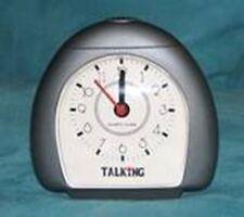 TALKING ANALOG ROUND CLOCK (ENGLISH SPEAKING)