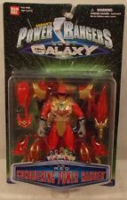 Power Rangers Lost Galaxy - Conquering Red Ranger With Zord Armor Bandai (MOC)