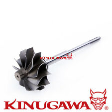 Turbo Turbine wheel Shaft fit Mitsubishi TD04L SUBARU VOLVO GSR w/ 11 Blades