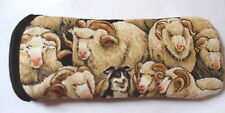 BN- MERINO SHEEP ALL OVER  GLASSES CASE -   ideal small gift