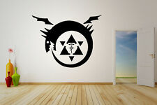 Wall Vinyl Sticker Decal Anime Manga FMA Fullmetal Alchimist Sign Uroboro V006