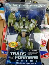 Transformers Prime First Edition Bulkhead new sealed  im the first owner