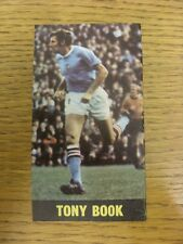 1969/1970 Football Pictorial Cut-Out: Top Team Set - Manchester City - Book, Ton