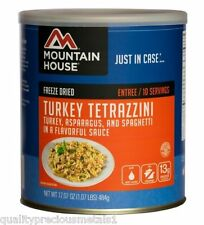1  # 10 Can - Turkey Tetrazzini - Mountain House Freeze Dried Emergency Food