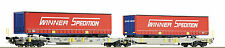 Roco 67392 Double Pocket articulated wagon Ep 6 Optional Wheelsets Märklin free