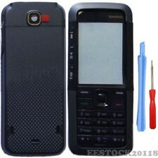 New Black Fascia Full Housing Case Cover Faceplate Keypad for Nokia 5310 +Tools