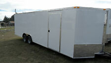 20' CAR HAULER ENCLOSED CARGO  AUTO RACE TRAILER 8.5X20 7000 LB GVWR