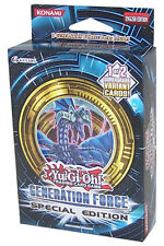 Yu-Gi-Oh Cards Zexal - Generation Force *Special Edition* (3 Packs & Promo Card)
