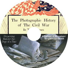Photographic History of the Civil War { 10 Volumes } on DVD