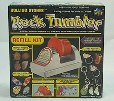 Rolling Stones Rock Tumbler Refill kit New open box