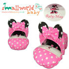 Personalised Minnie Mouse Baby Car Seat Cover (NEXT DAY DISPATCH)